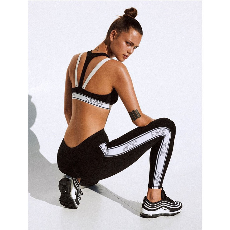Manto Ladies Logo Gym Leggings