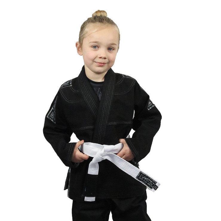 Fumetsu Prime Arctic Camo Edition BJJ Gi for Children Black/Grey