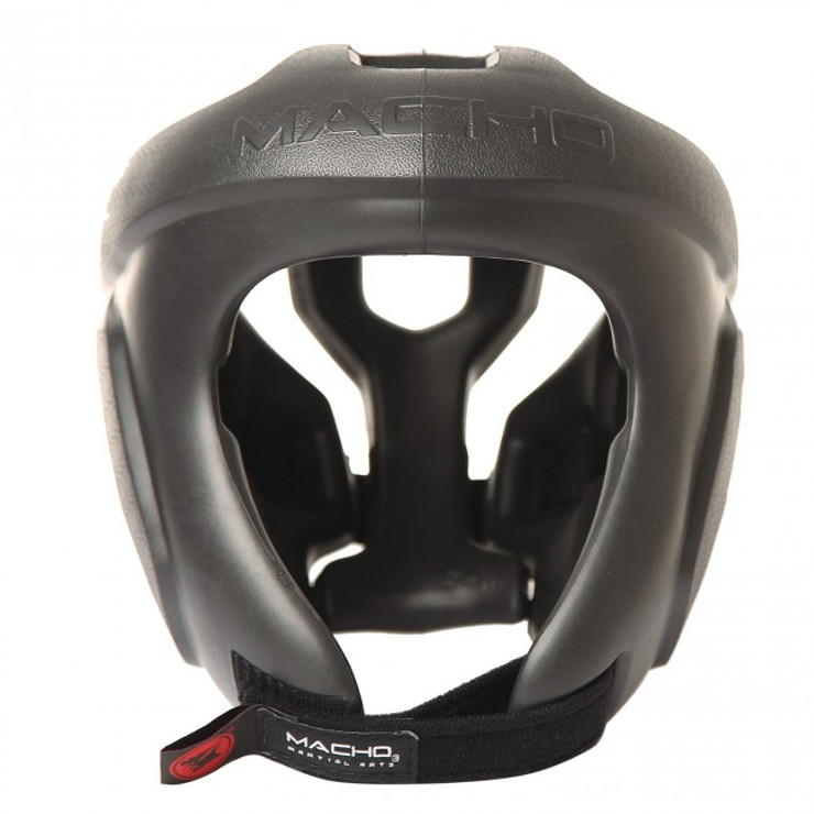 Macho Spar-Tec Head Guard Black