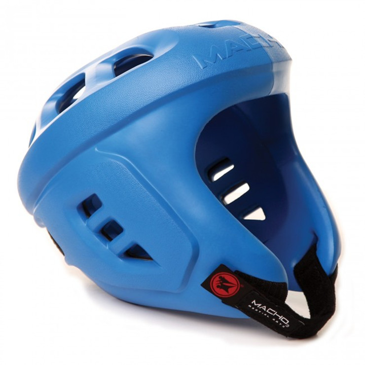 Macho Spar-Tec Head Guard Blue