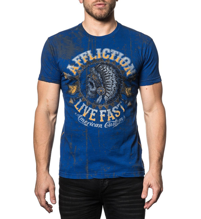 Affliction AC Stampede Short Sleeved T-Shirt