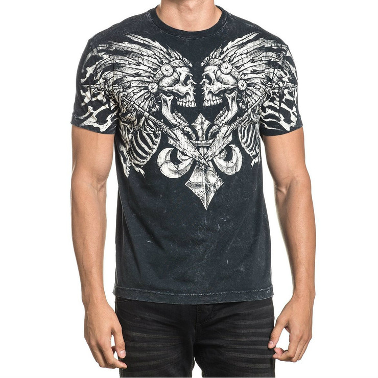 Affliction Apache Pride Short Sleeved T-Shirt