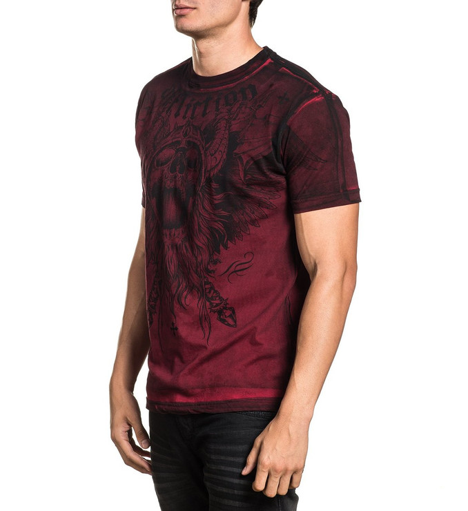 Affliction Crusher Short Sleeved T-Shirt