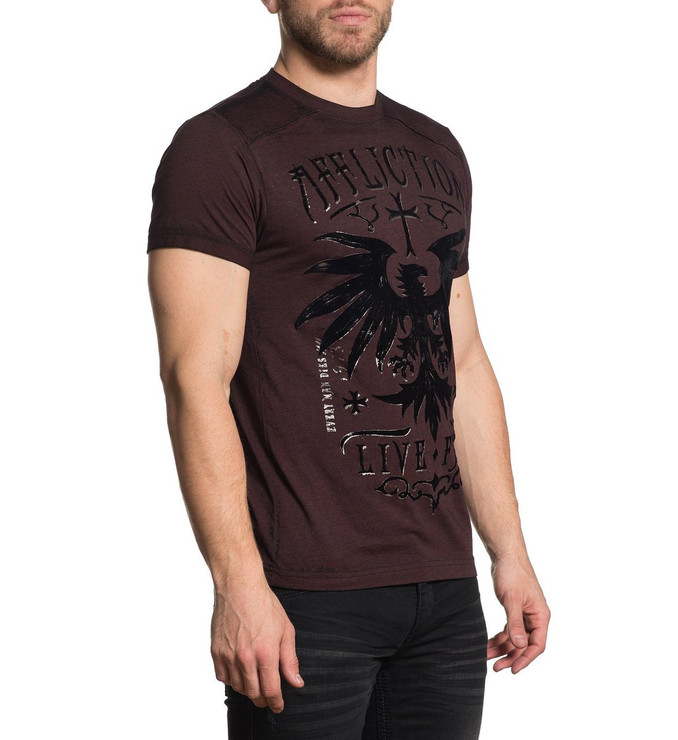 Affliction Rebel Rouser Short Sleeved T-Shirt