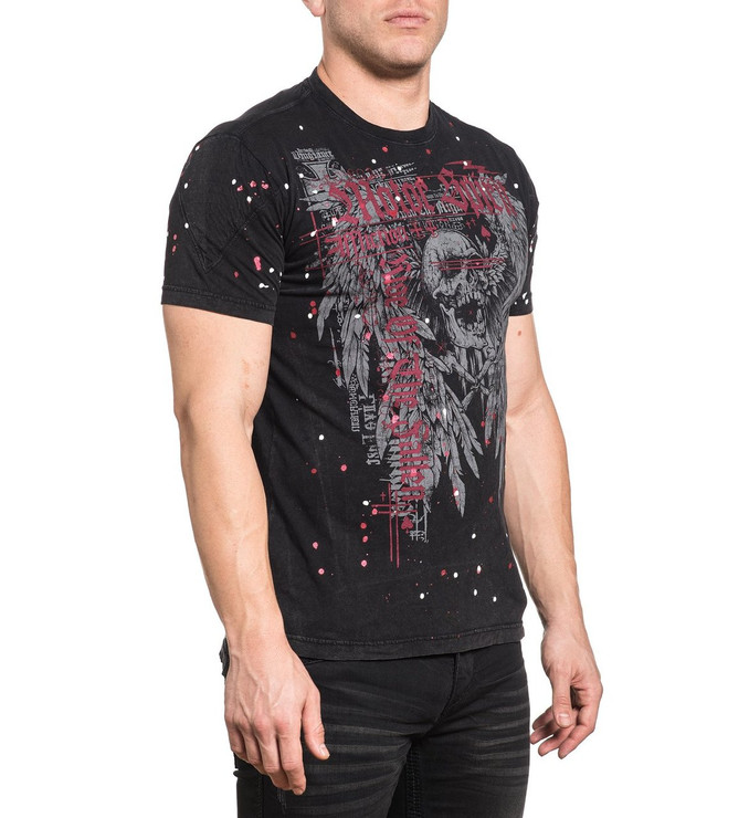 Affliction The Rise Short Sleeved T-Shirt