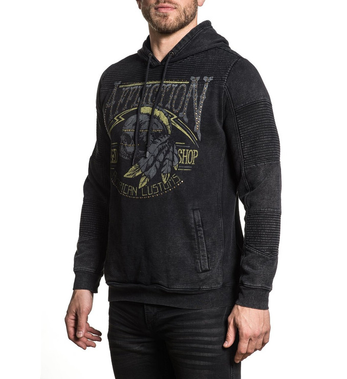 Affliction Tradition Speed Hooded Sweatshirt