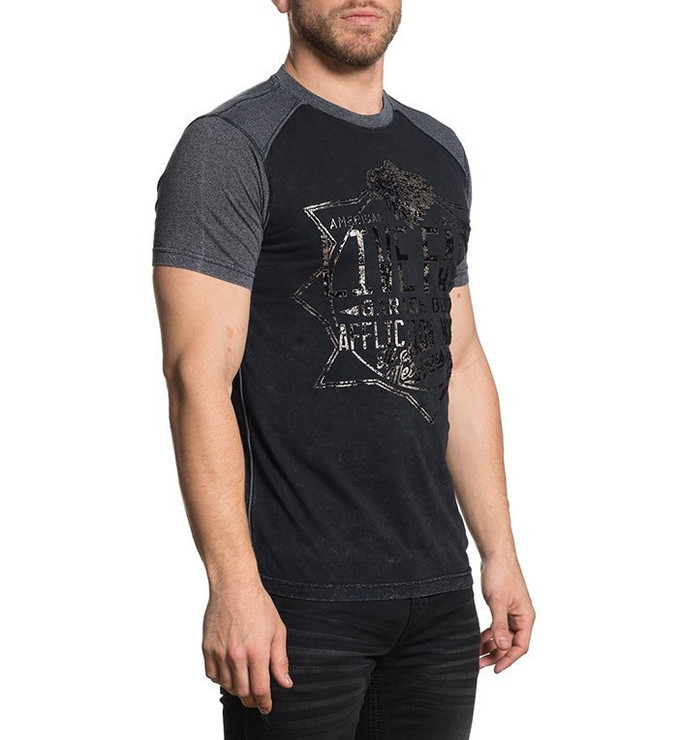 Affliction Speed Metalworks Short Sleeved T-Shirt