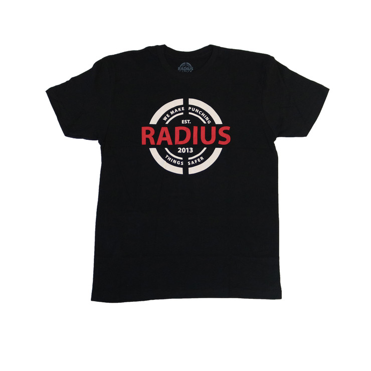 Radius Logo T-Shirt Black
