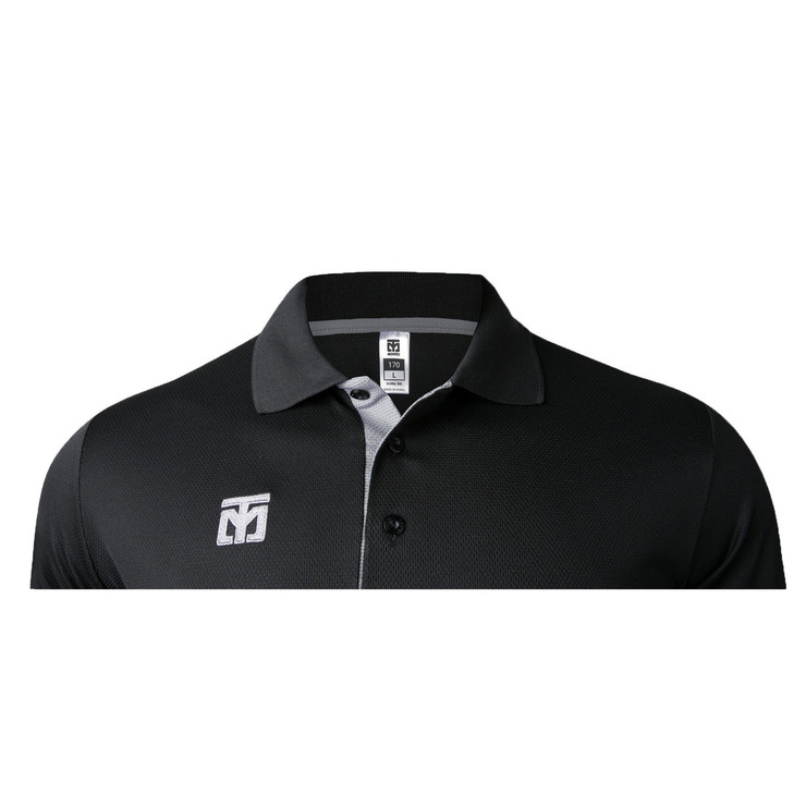 Mooto Cool Ceramic Polo Shirt Black