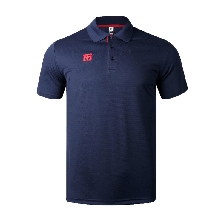 Mooto Cool Ceramic Polo Shirt Navy