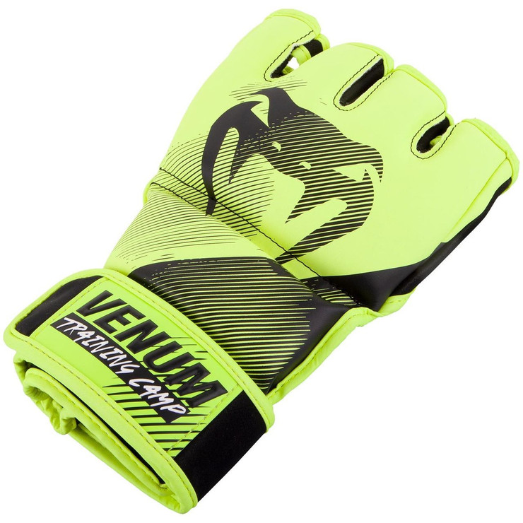 Venum Training Camp 2.0 MMA Gloves Black/Neo Yellow
