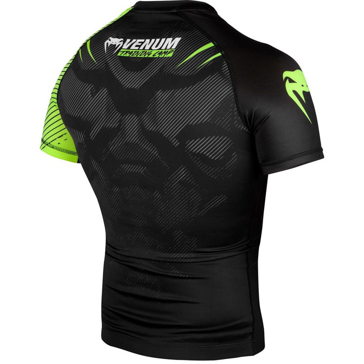 Venum Training Camp 2.0 Short Sleeved Rash Guard