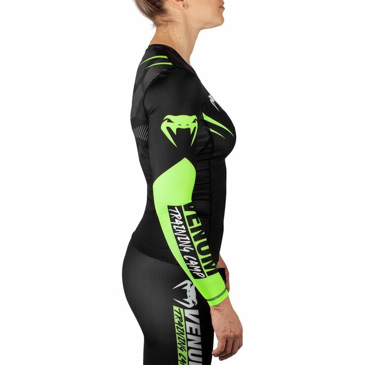 Venum Training Camp 2.0 Ladies Long Sleeved Rash Guard