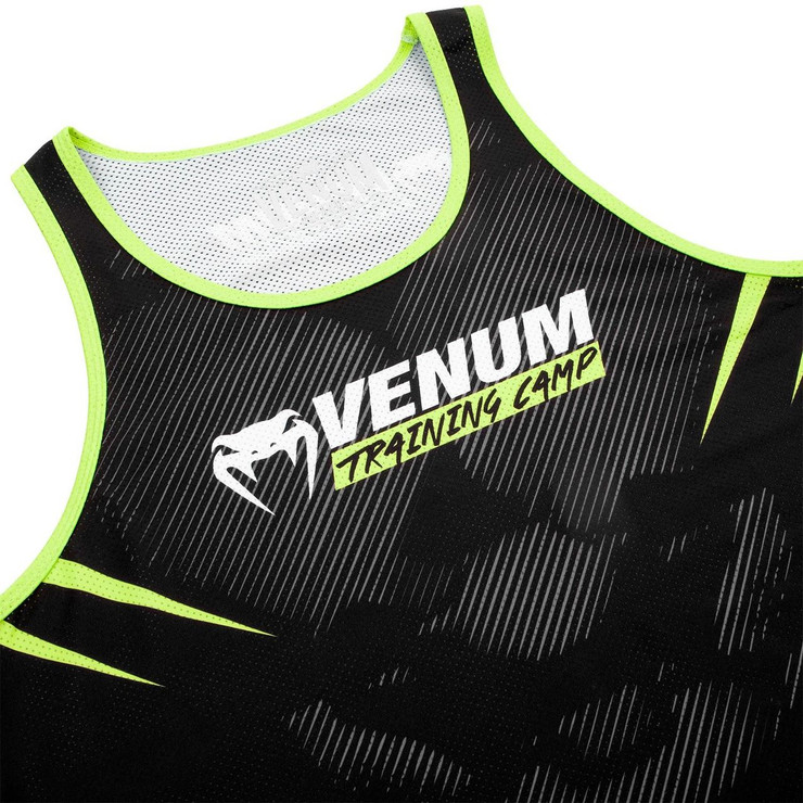 Venum Training Camp 2.0 Tank Top Black/Neo Yellow