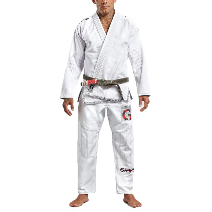 Gr1ps Athletics Armadura 2.0 Camo BJJ Gi White