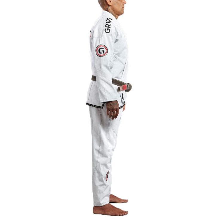 Gr1ps Athletics Armadura 2.0 Competition BJJ Gi White