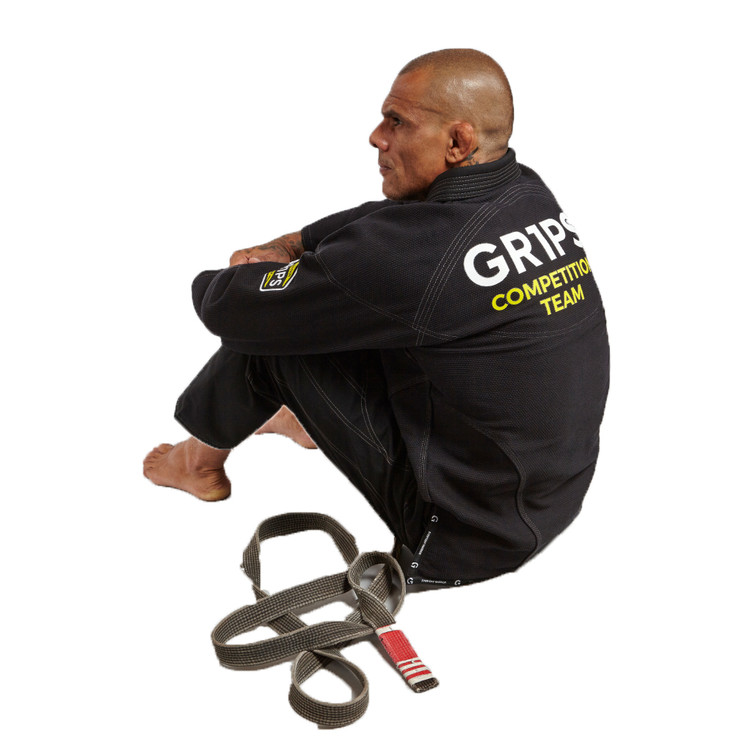 Gr1ps Athletics Armadura 2.0 Competition BJJ Gi Black