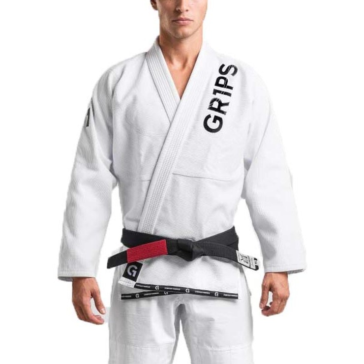 Gr1ps Athletics Primero Competition BJJ Gi Whit