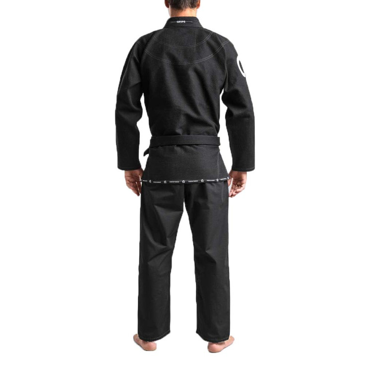 Gr1ps Athletics Primero Competition BJJ Gi Black