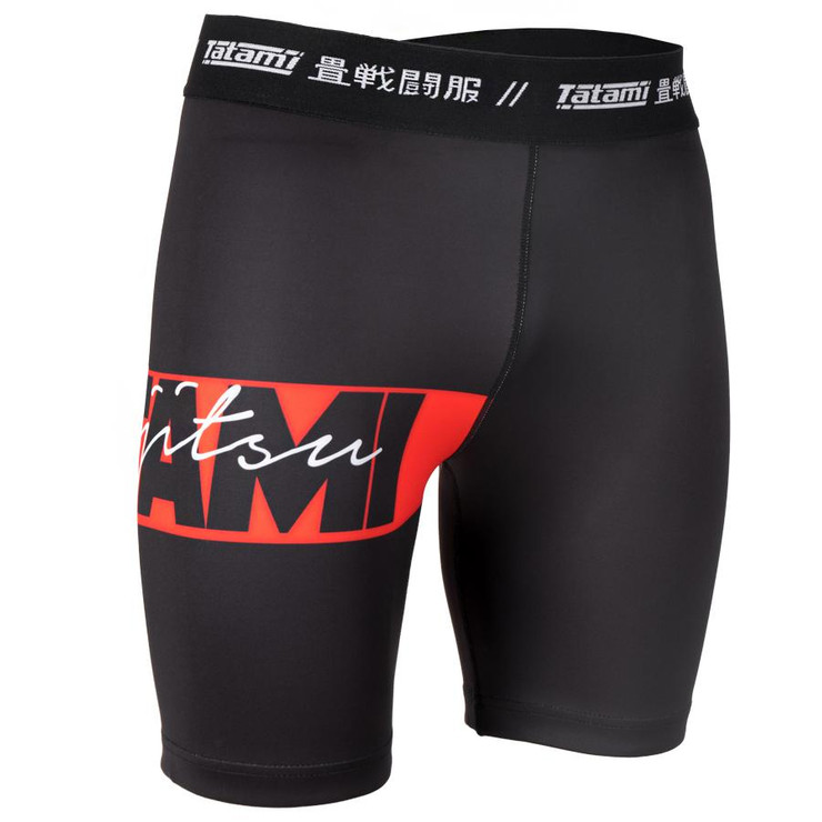 Tatami Fightwear Red Bar Vale Tudo Shorts