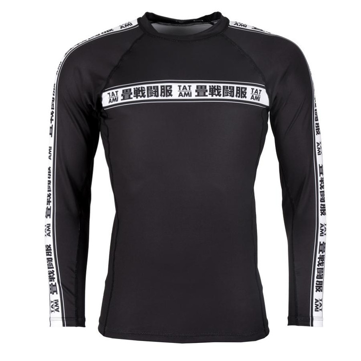 Tatami Fightwear Worldwide Long Sleeve Rash Guard