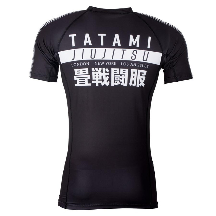 Tatami Fightwear Worldwide Short Sleeve Rash Guard