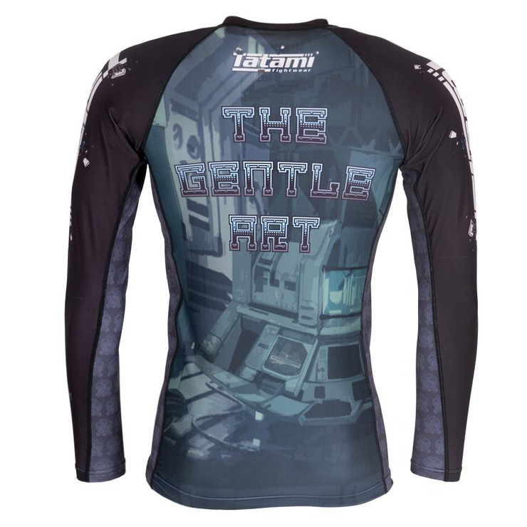 Tatami Fightwear Cyber Gentle Panda Long Sleeve Rash Guard