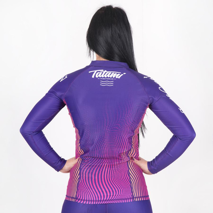 Tatami Fightwear Ladies South Coast Jiu Jitsu Long Sleeve Rash Guard