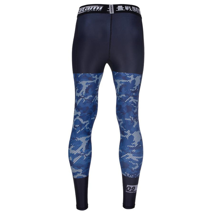 Tatami Fightwear Essential Camo Spats Black/Blue