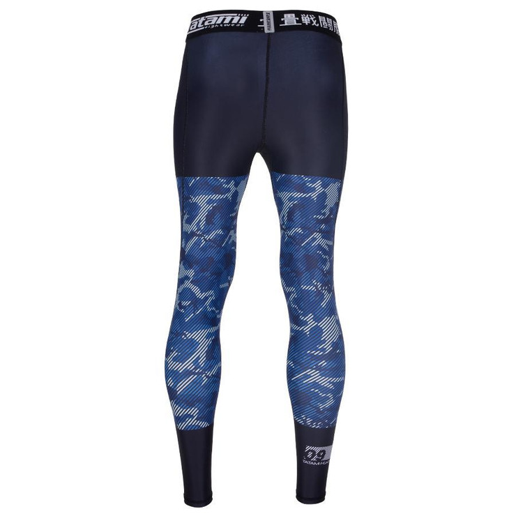 Tatami Fightwear Kids Essential Camo Spats Black/Blue