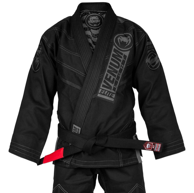 Venum Elite Light 2.0 BJJ Gi Black/Black