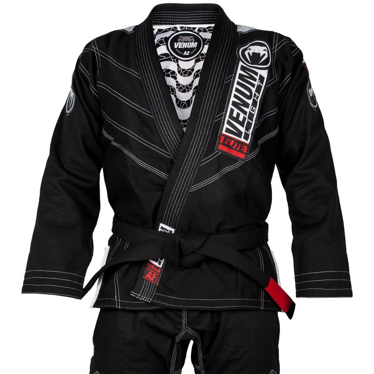 Venum Elite Light 2.0 BJJ Gi Black