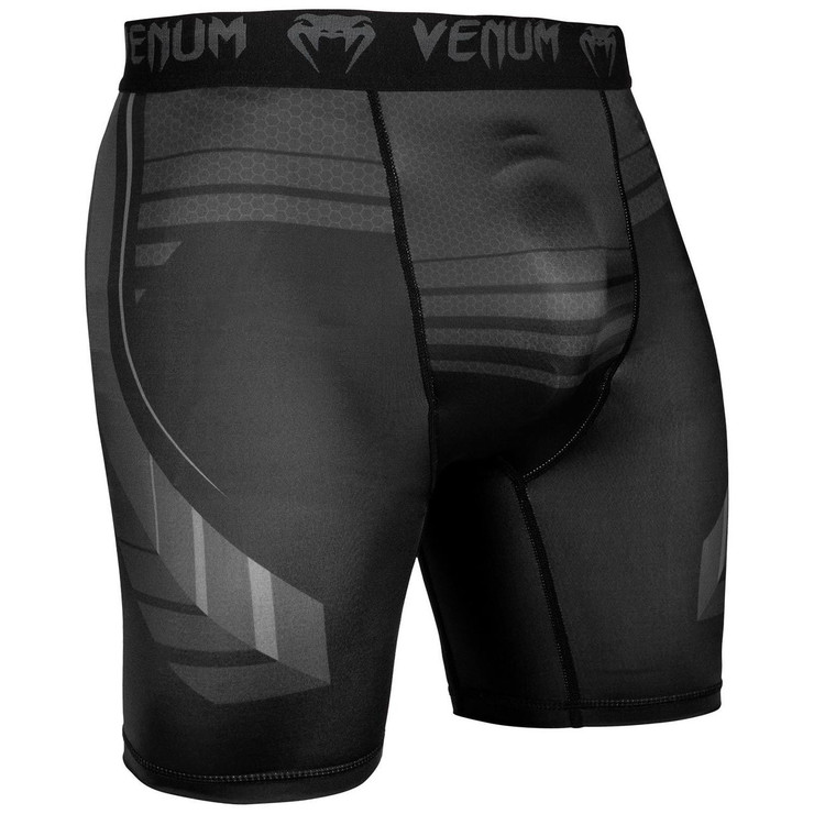 Venum Technical 2.0 Compression Shorts Black/Black