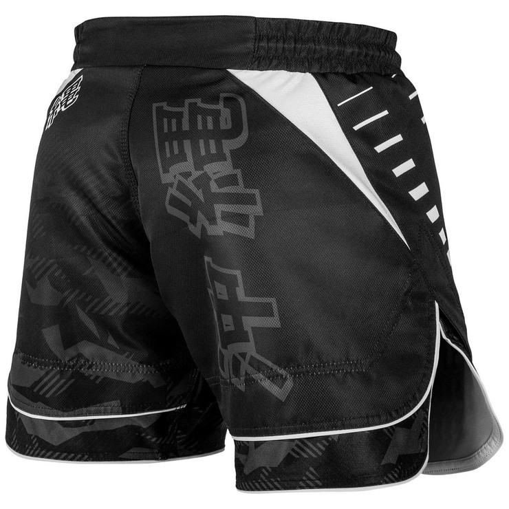Venum Okinawa 2.0 Fight Shorts Black/White