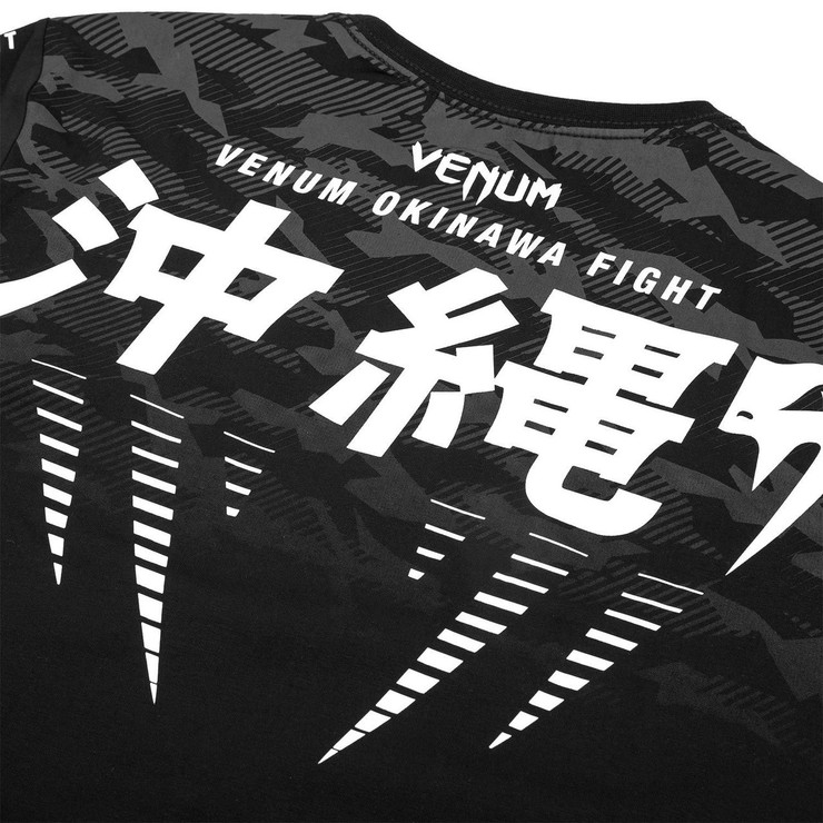 Venum Okinawa 2.0 T-Shirt Black/White