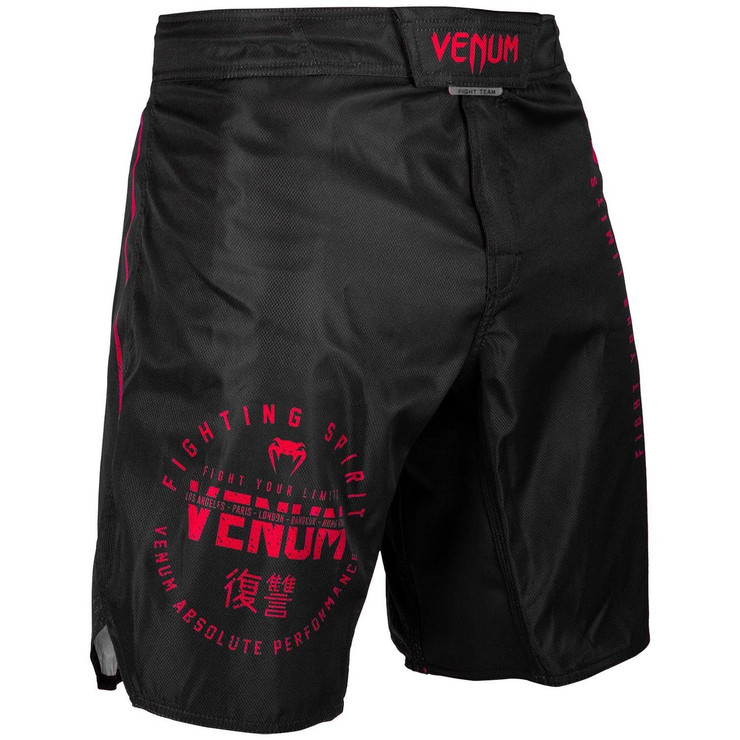 Venum Signature Fight Shorts Black/Red
