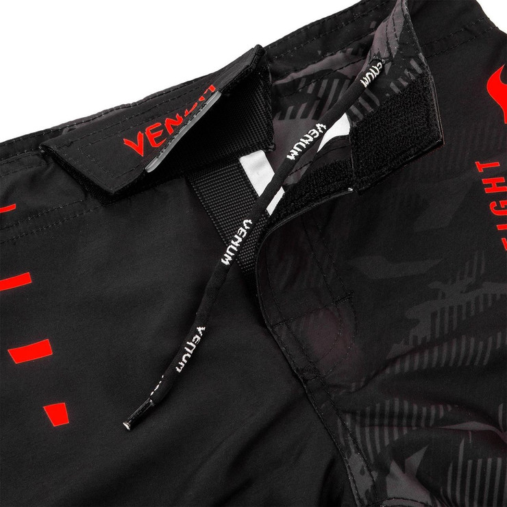 Venum Okinawa 2.0 Kids Fight Shorts Black/Red