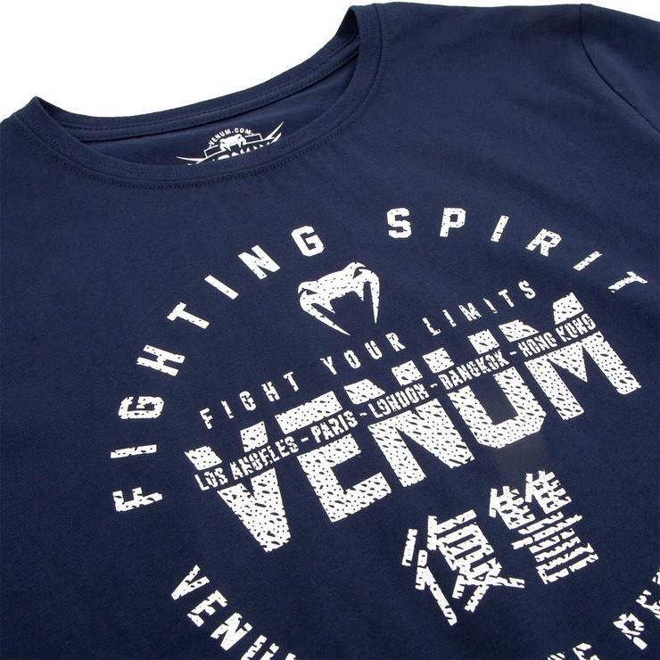 Venum Signature Kids T-Shirt Navy