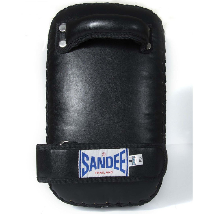 Sandee Small Flat Thai Pads Black/White