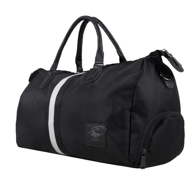 Tatami Fightwear Black Stripe Duffel Bag