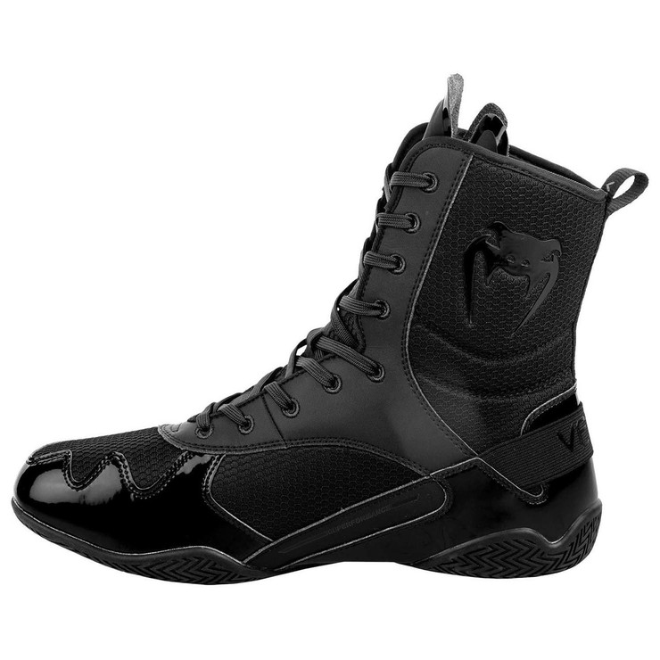 Venum Elite Boxing Shoes Black/Black