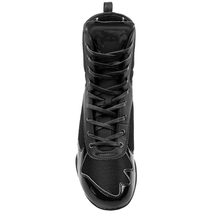 Venum Elite Boxing Boots Black/Black