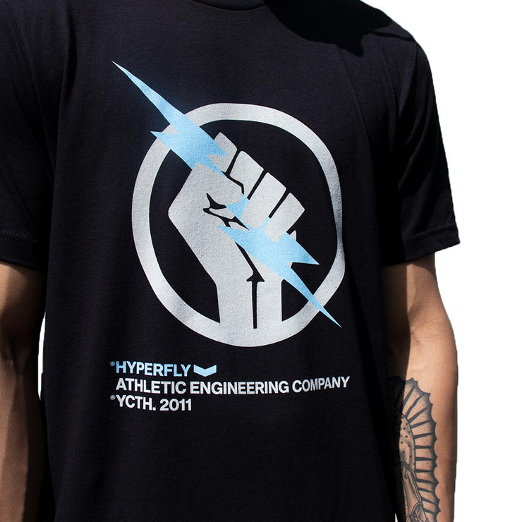 Hyperfly The Bolt T-Shirt Black