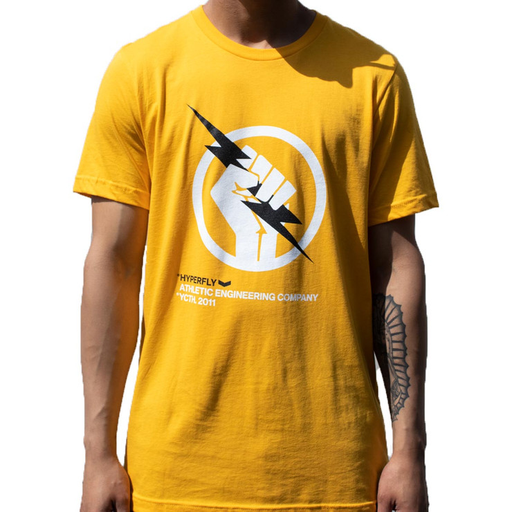Hyperfly The Bolt T-Shirt Yellow
