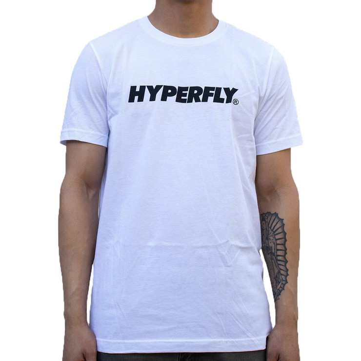 Hyperfly Logo T-Shirt White