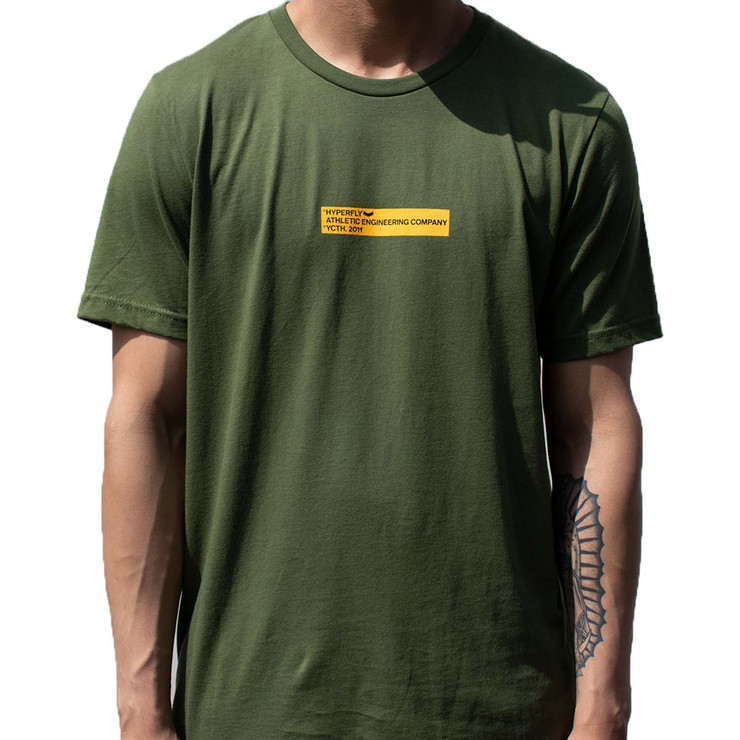 Hyperfly The Box T-Shirt Green