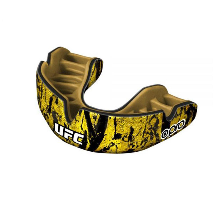 Opro UFC Power Fit  Gold/Black/Gold