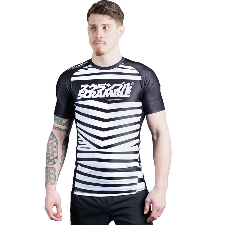 Scramble Dazzle Short Sleeved Rash Guard