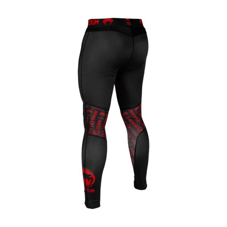 Venum Logos Spats Black/Red