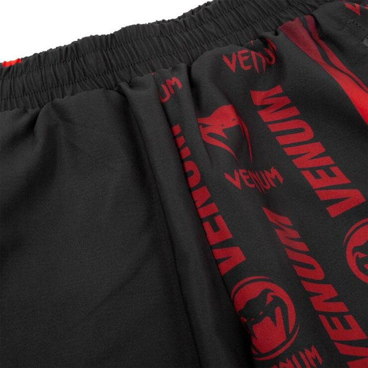 Venum Logos Training Shorts Black/Red